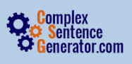 Complex Sentence Generator